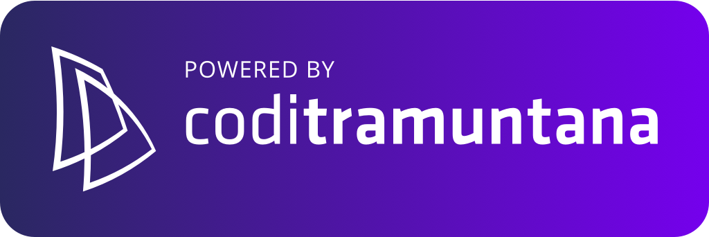 Logo coditramuntana v3 powered color shape