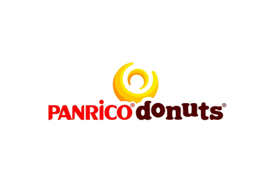 Panrico Donuts company logo, known in the food sector
