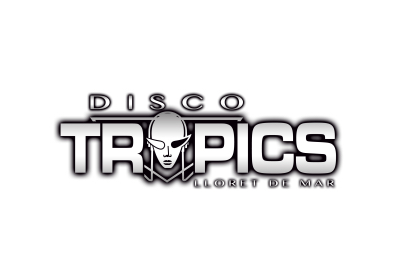 Disco Tropics logo, company of the leisure events sector