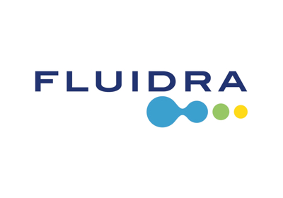 Fluidra company logo of the Pool & Wellnes sector (Olympic pools)