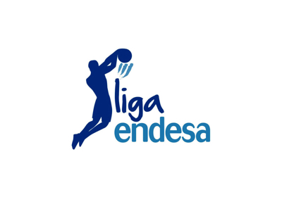Liga Endesa logo, the main European basketball league