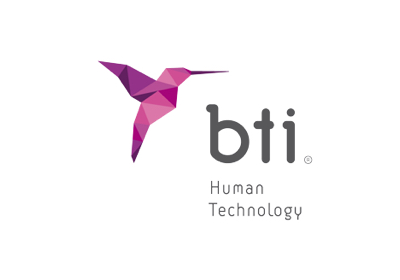 Bti logo, innovation services company
