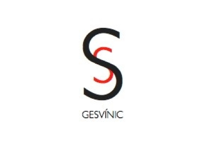 Gesvinic logo, company of the distribution of wines sector