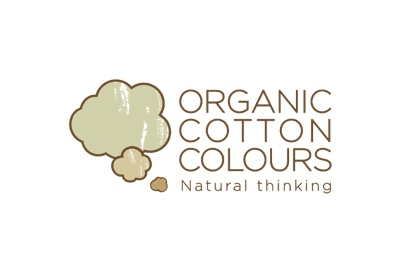 Logo de Organic Cotton Colours, empresa del sector textil