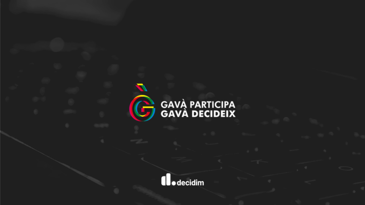 Decidim Platform Logo of the Gavà City Council