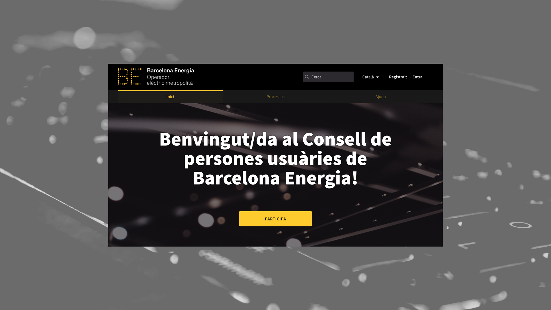 Barcelona Energia users assembly home image