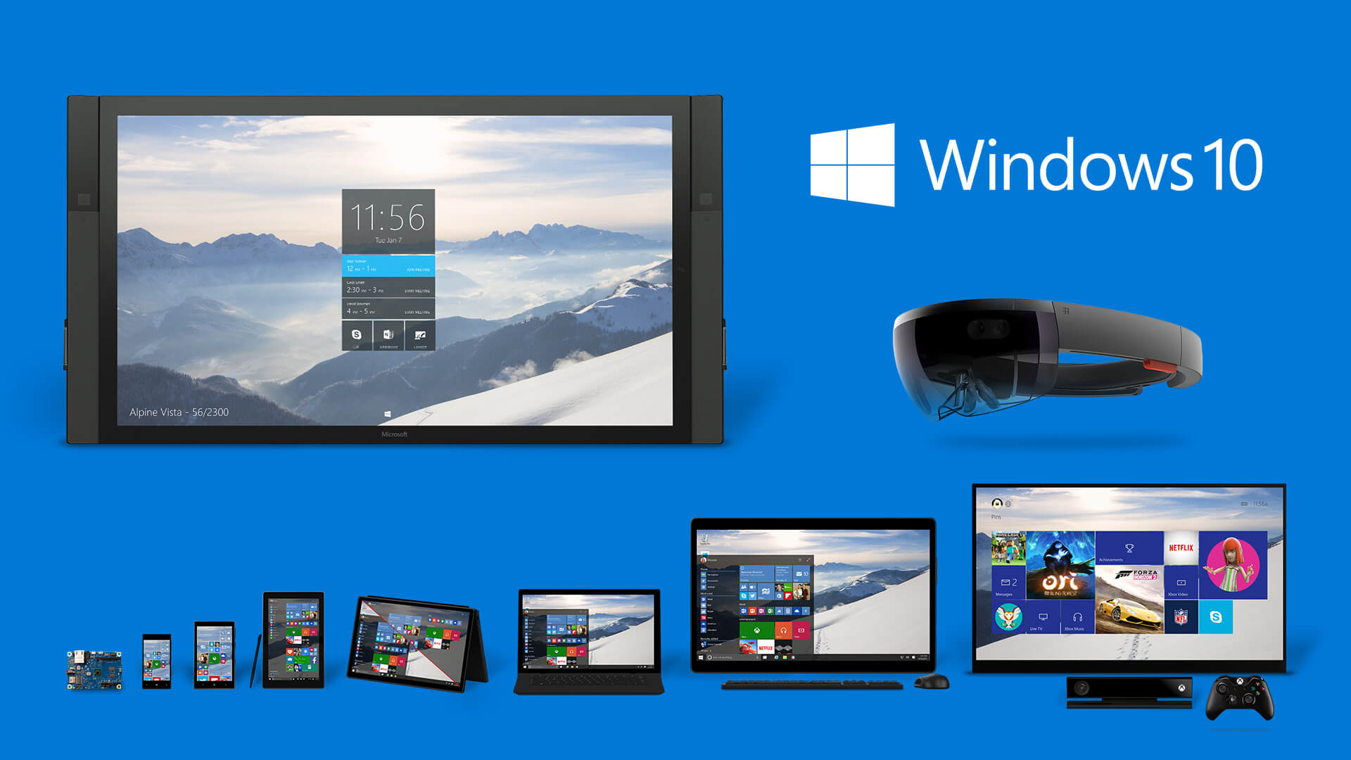 Los 10 devices donde poder ver y utilizar el Windows 10o